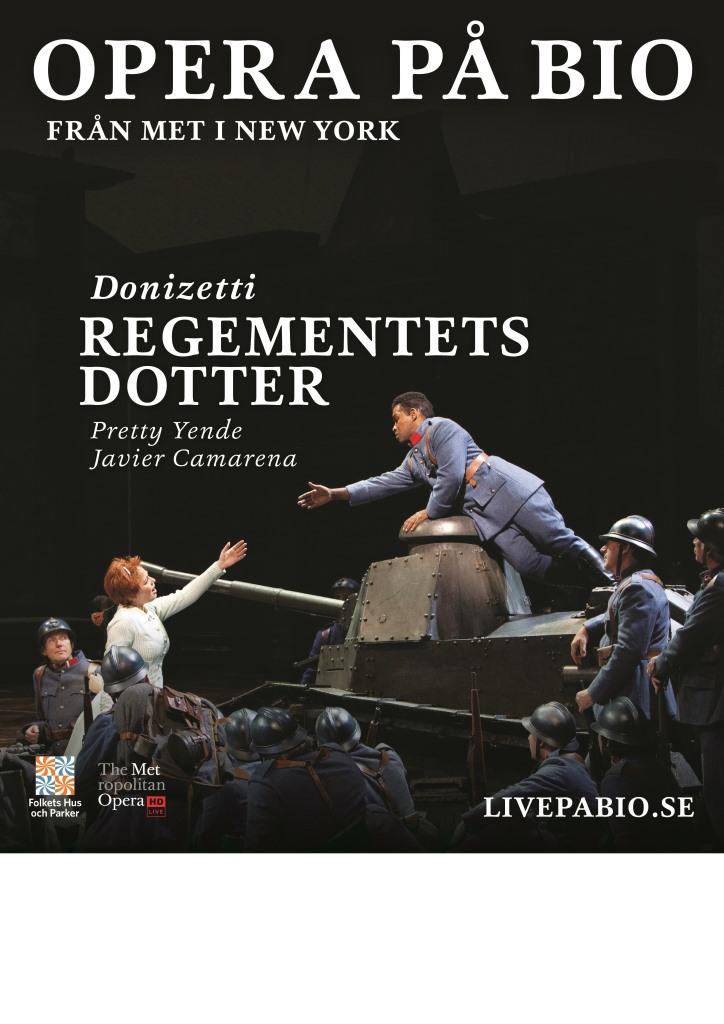 Opera - Regementets dotter