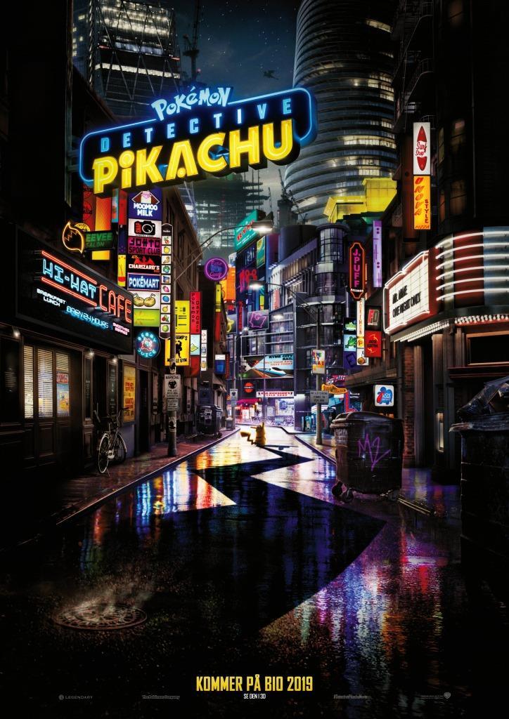 Pokémon: Detective Pikachu (Eng.tal)